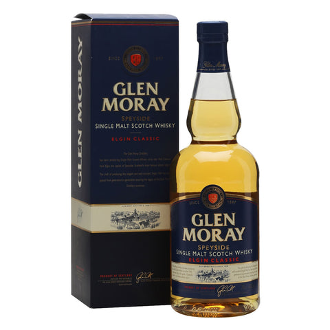 Glen Moray Classic Single Malt Whisky - 700ml Whiskey - Drinkka Alcohol Delivery Best Whiskey Wine Gin Beer Vodkas and more for Parties in Makati BGC Fort and Manila | Bevtools Bar and Beverage Tools