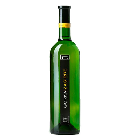 Gorka Izaguirre White Wine 2014 - 750ml White Wine - Drinkka Alcohol Delivery Best Whiskey Wine Gin Beer Vodkas and more for Parties in Makati BGC Fort and Manila | Bevtools Bar and Beverage Tools