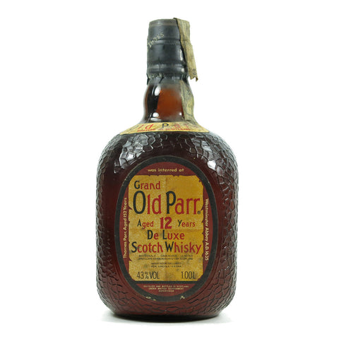 Grand Old Parr Blended Scotch Whisky - 1000ml Whiskey - Bevtools Bar and Beverage Tools | Alcohol and Liquor Delivery Makati, Metro Manila, Philippines
