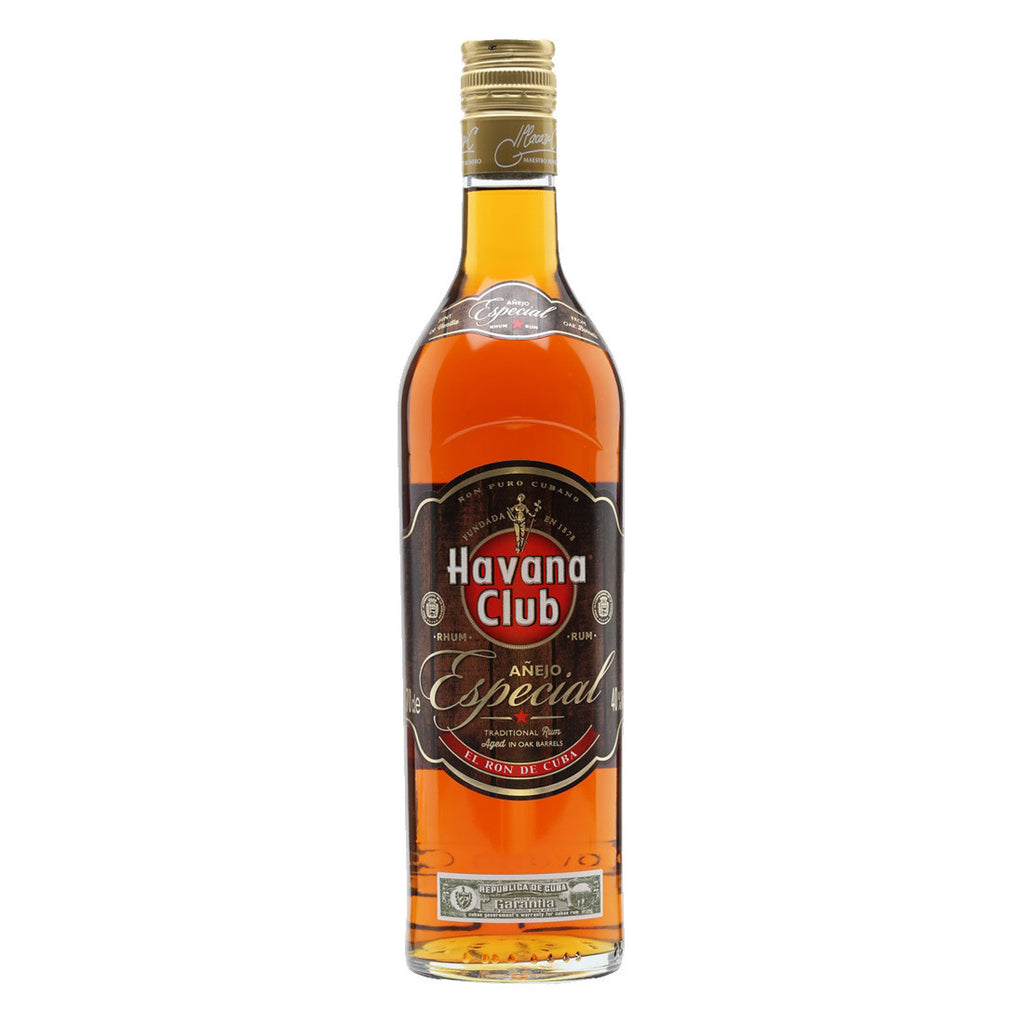 Havana Club Añejo Especial Rum - 750ml Rum - Drinkka Alcohol Delivery Best Whiskey Wine Gin Beer Vodkas and more for Parties in Makati BGC Fort and Manila | Bevtools Bar and Beverage Tools