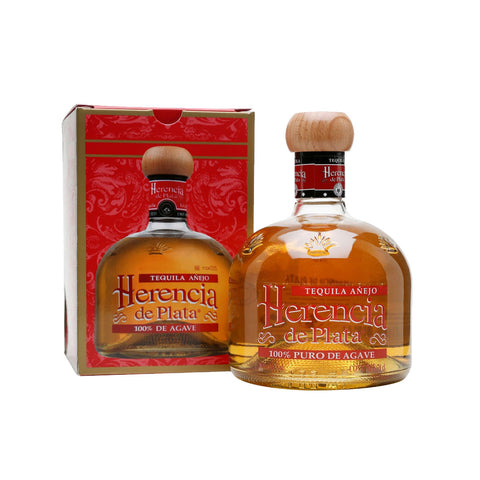 Herencia de Plata Anejo Tequila - 750ml Tequila Añejo - Drinkka Alcohol Delivery Best Whiskey Wine Gin Beer Vodkas and more for Parties in Makati BGC Fort and Manila | Bevtools Bar and Beverage Tools