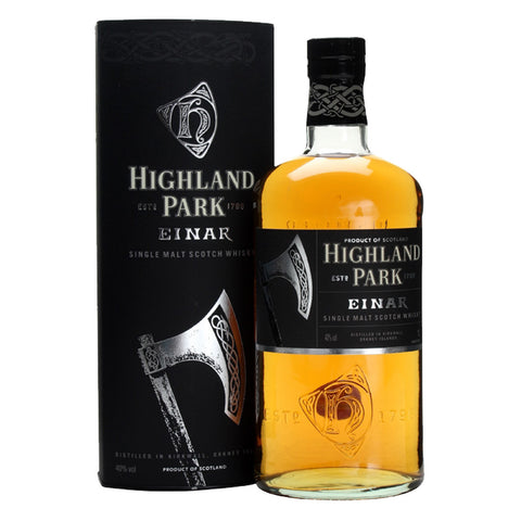 Highland Park Einar Single Malt Scotch Whisky - 1000ml Whiskey - Bevtools Bar and Beverage Tools | Alcohol and Liquor Delivery Makati, Metro Manila, Philippines