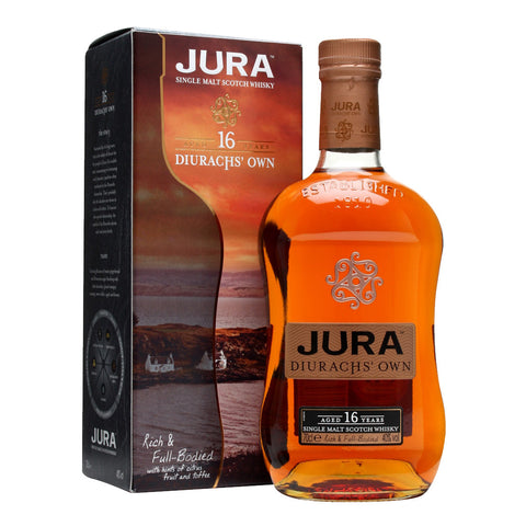Isle Jura 16 Years Island Single Malt Scotch Whisky - 700ml Whiskey - Bevtools Bar and Beverage Tools | Alcohol and Liquor Delivery Makati, Metro Manila, Philippines