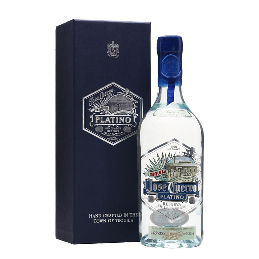 Jose Cuervo Platino Tequila - 750ml Tequila Blanco - Drinkka Alcohol Delivery Best Whiskey Wine Gin Beer Vodkas and more for Parties in Makati BGC Fort and Manila | Bevtools Bar and Beverage Tools