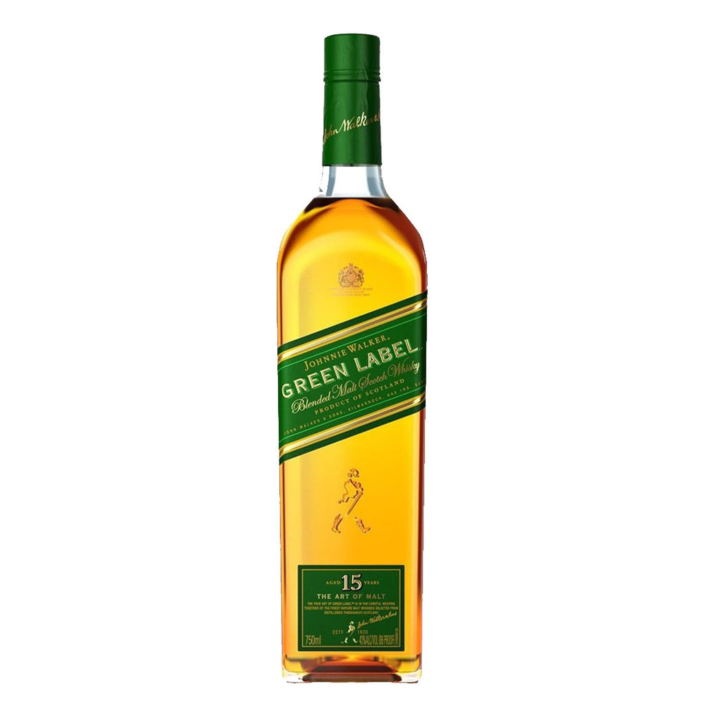 Johnnie Walker Green Label Blended Scotch Whisky - 700ml Whiskey - Drinkka Alcohol Delivery Best Whiskey Wine Gin Beer Vodkas and more for Parties in Makati BGC Fort and Manila | Bevtools Bar and Beverage Tools
