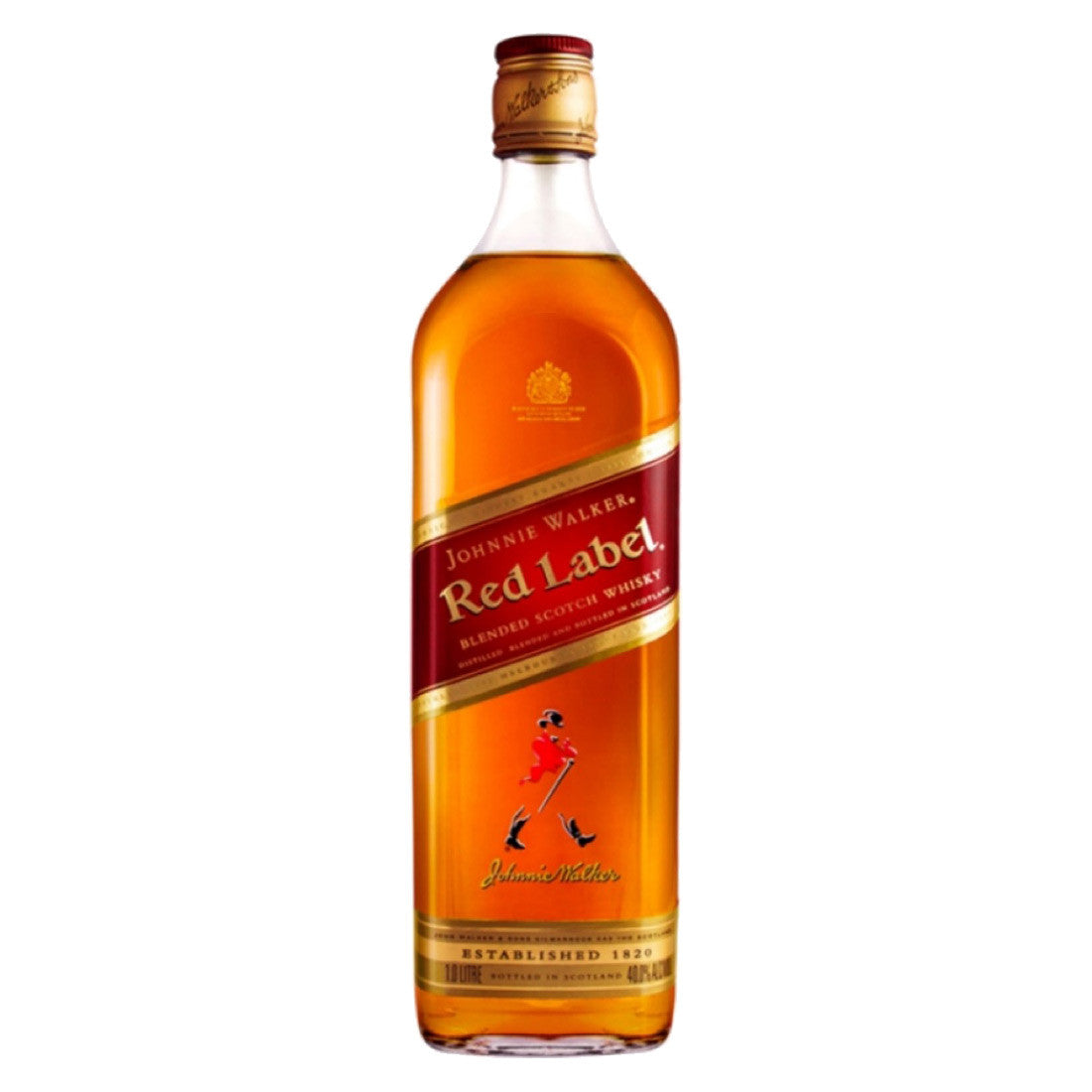 Johnnie Walker Red Label - 1000ml - Bevtools Bar Tools and Alcohol Delivery