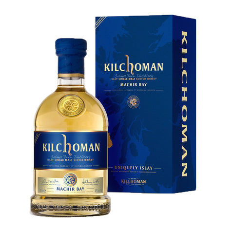 Kilchoman Machir Bay 2014 Islay Single Malt Scotch Whisky - 700ml Whiskey - Drinkka Alcohol Delivery Best Whiskey Wine Gin Beer Vodkas and more for Parties in Makati BGC Fort and Manila | Bevtools Bar and Beverage Tools