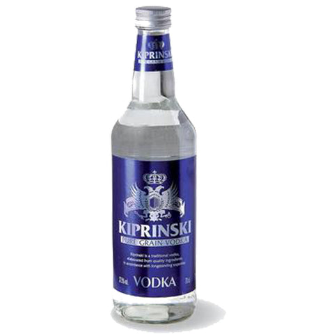 Kiprinski Vodka - 700ml Premium Vodka - Drinkka Alcohol Delivery Best Whiskey Wine Gin Beer Vodkas and more for Parties in Makati BGC Fort and Manila | Bevtools Bar and Beverage Tools