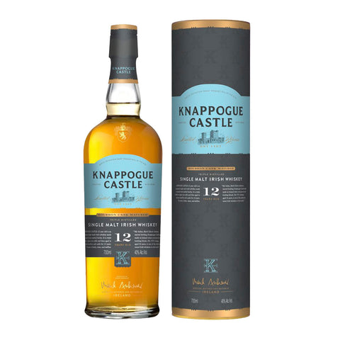 Knappogue Castle 12 Years Islay Single Malt Scotch Whisky - 700ml Whiskey - Drinkka Alcohol Delivery Best Whiskey Wine Gin Beer Vodkas and more for Parties in Makati BGC Fort and Manila | Bevtools Bar and Beverage Tools