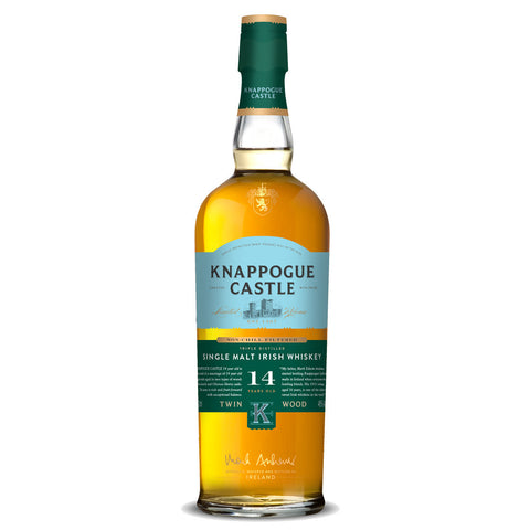 Knappogue Castle 14 Years Islay Single Malt Scotch Whisky - 700ml Whiskey - Drinkka Alcohol Delivery Best Whiskey Wine Gin Beer Vodkas and more for Parties in Makati BGC Fort and Manila | Bevtools Bar and Beverage Tools