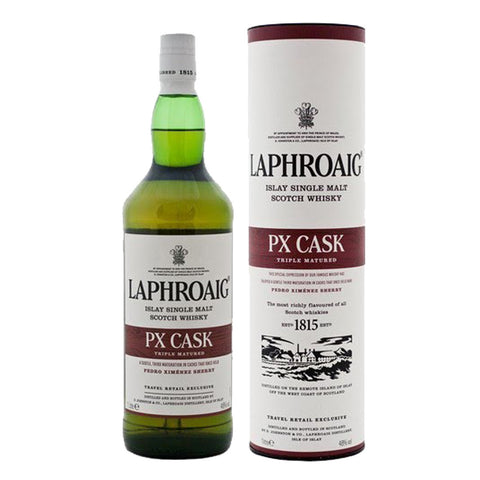 Laphroaig PX Cask Strength Islay Single Malt Scotch Whisky - 1000ml Whiskey - Drinkka Alcohol Delivery Best Whiskey Wine Gin Beer Vodkas and more for Parties in Makati BGC Fort and Manila | Bevtools Bar and Beverage Tools
