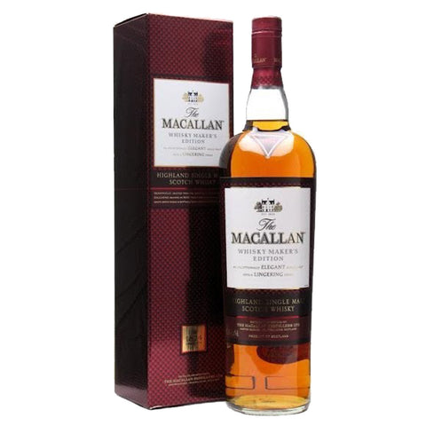 Macallan Maker's Edition Speyside Single Malt Scotch Whisky - 700ml Whiskey - Drinkka Alcohol Delivery Best Whiskey Wine Gin Beer Vodkas and more for Parties in Makati BGC Fort and Manila | Bevtools Bar and Beverage Tools