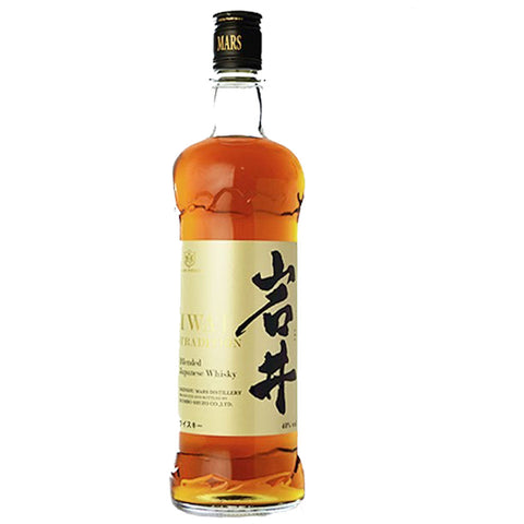 Mars IWAI Tradition Japanese Whisky - 750ml Japanese Whisky - Drinkka Alcohol Delivery Best Whiskey Wine Gin Beer Vodkas and more for Parties in Makati BGC Fort and Manila | Bevtools Bar and Beverage Tools