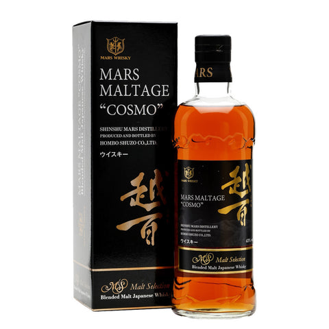 Mars Maltage Cosmo Japanese Whisky - 700ml Whiskey - Drinkka Alcohol Delivery Best Whiskey Wine Gin Beer Vodkas and more for Parties in Makati BGC Fort and Manila | Bevtools Bar and Beverage Tools