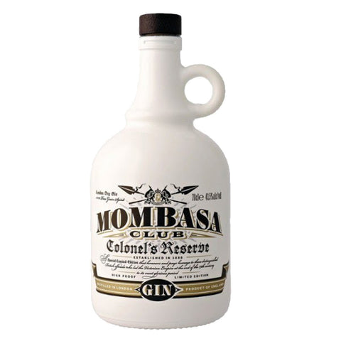 Mombasa Colonel's Reserve Gin - 700ml London Dry Gin - Drinkka Alcohol Delivery Best Whiskey Wine Gin Beer Vodkas and more for Parties in Makati BGC Fort and Manila | Bevtools Bar and Beverage Tools