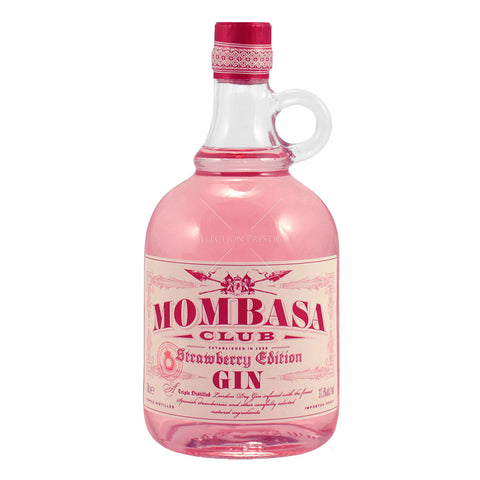 Mombasa Strawberry Gin - 700ml Contemporary Gin - Drinkka Alcohol Delivery Best Whiskey Wine Gin Beer Vodkas and more for Parties in Makati BGC Fort and Manila | Bevtools Bar and Beverage Tools