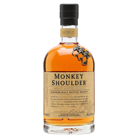 Monkey Shoulder - 750ml - Bevtools Bar Tools and Alcohol Delivery