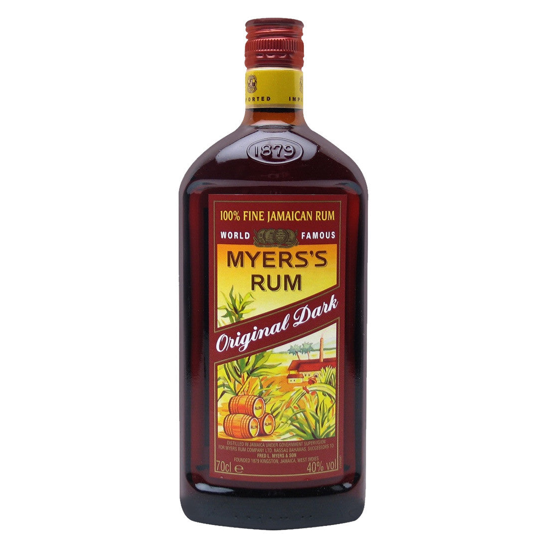 Myer's Original Dark Rum - 750ml Rum - Drinkka Alcohol Delivery Best Whiskey Wine Gin Beer Vodkas and more for Parties in Makati BGC Fort and Manila | Bevtools Bar and Beverage Tools