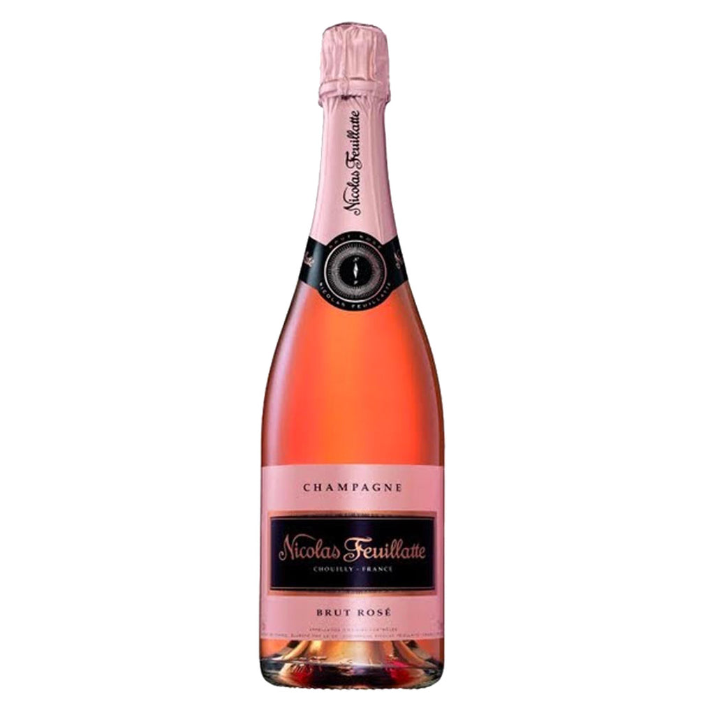 Nicolas Feuillate Brut Rose NV Champagne - 750ml Champagne - Drinkka Alcohol Delivery Best Whiskey Wine Gin Beer Vodkas and more for Parties in Makati BGC Fort and Manila | Bevtools Bar and Beverage Tools