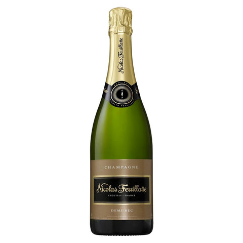 Nicolas Feuillatte Demi-Sec Champagne - 750ml Champagne - Drinkka Alcohol Delivery Best Whiskey Wine Gin Beer Vodkas and more for Parties in Makati BGC Fort and Manila | Bevtools Bar and Beverage Tools