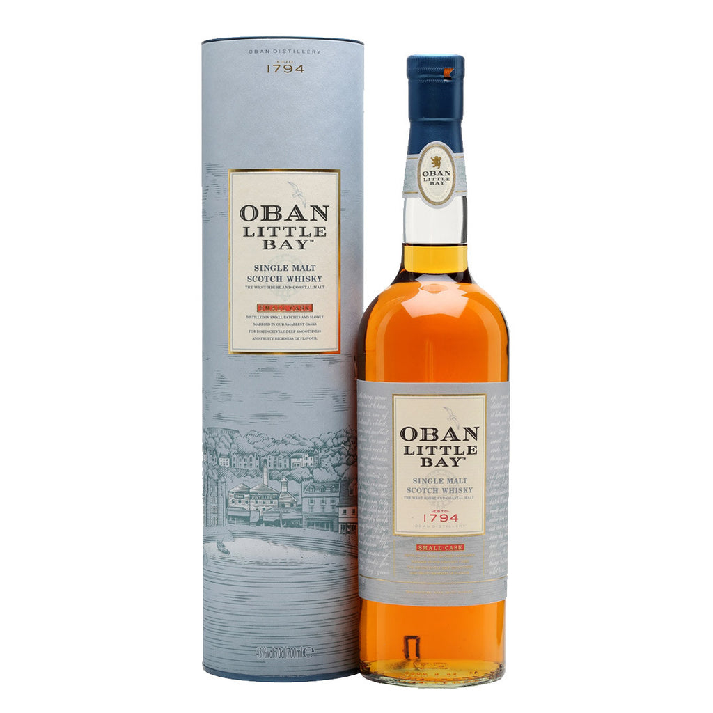 Oban Little Bay Highland Single Malt Scotch Whisky - 700ml Whiskey - Drinkka Alcohol Delivery Best Whiskey Wine Gin Beer Vodkas and more for Parties in Makati BGC Fort and Manila | Bevtools Bar and Beverage Tools