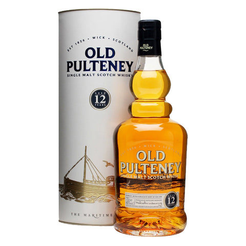 Old Pulteney 12 Years Highland Single Malt Scotch Whisky - 700ml Whiskey - Bevtools Bar and Beverage Tools | Alcohol and Liquor Delivery Makati, Metro Manila, Philippines