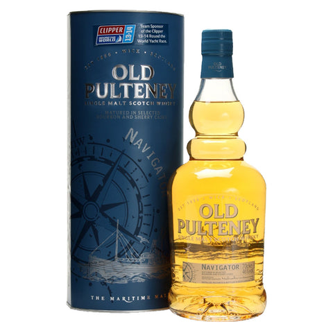 Old Pulteney Navigator Highland Single Malt Scotch Whisky - 700ml Whiskey - Bevtools Bar and Beverage Tools | Alcohol and Liquor Delivery Makati, Metro Manila, Philippines