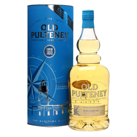 Old Pulteney Noss Head Bourbon Cask Highland Single Malt Scotch Whisky - 1Liter Whiskey - Bevtools Bar and Beverage Tools | Alcohol and Liquor Delivery Makati, Metro Manila, Philippines