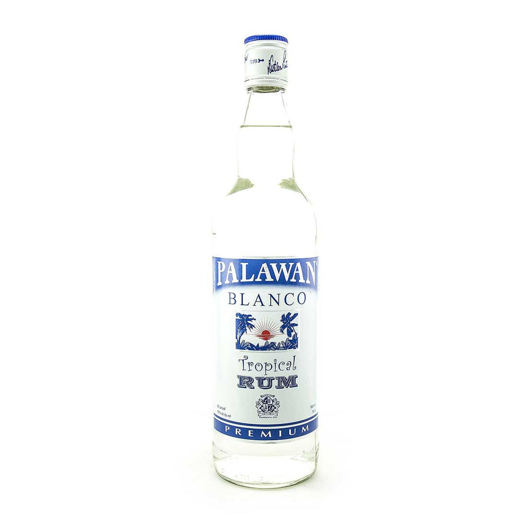 Palawan Blanco Premium White Rum -700ml Rum - Drinkka Alcohol Delivery Best Whiskey Wine Gin Beer Vodkas and more for Parties in Makati BGC Fort and Manila | Bevtools Bar and Beverage Tools