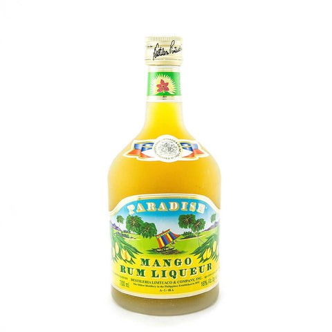 Paradise Mango Rum Liqueur -700ml Berry Liqueur - Drinkka Alcohol Delivery Best Whiskey Wine Gin Beer Vodkas and more for Parties in Makati BGC Fort and Manila | Bevtools Bar and Beverage Tools
