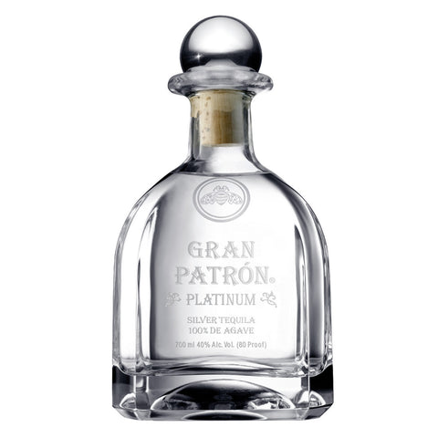 Patron Platinum - 750ml - Bevtools Bar Tools and Alcohol Delivery