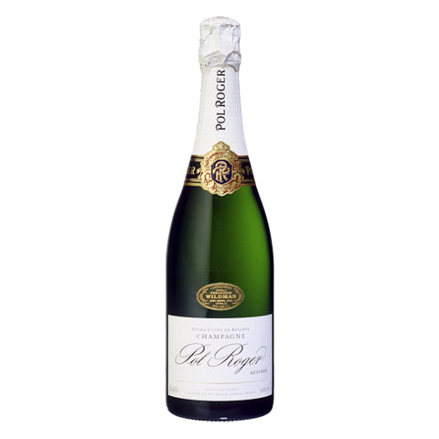 Pol Roger Brut Resere NV Champagne - 750ml Champagne - Drinkka Alcohol Delivery Best Whiskey Wine Gin Beer Vodkas and more for Parties in Makati BGC Fort and Manila | Bevtools Bar and Beverage Tools