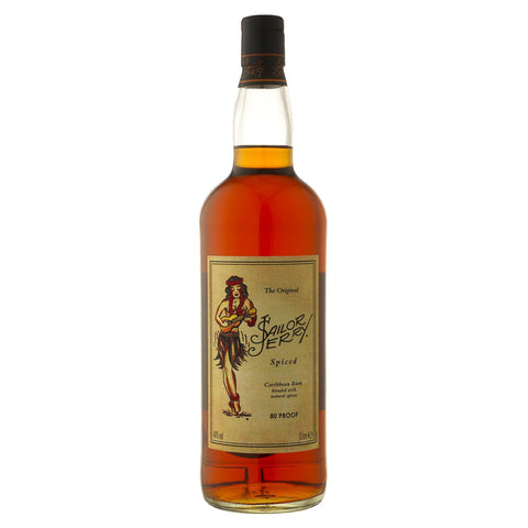 Sailor Jerry Spiced Rum - 1000ml Rum - Bevtools Bar and Beverage Tools | Alcohol and Liquor Delivery Makati, Metro Manila, Philippines