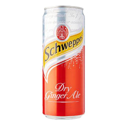 Schweppes Dry Ginger Ale - 330ml - Bevtools Bar Tools and Alcohol Delivery