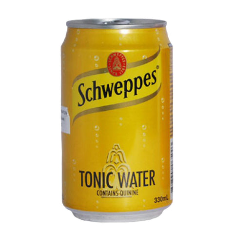 Schweppes Tonic Water in Can - 330ml - Bevtools Bar Tools and Alcohol Delivery