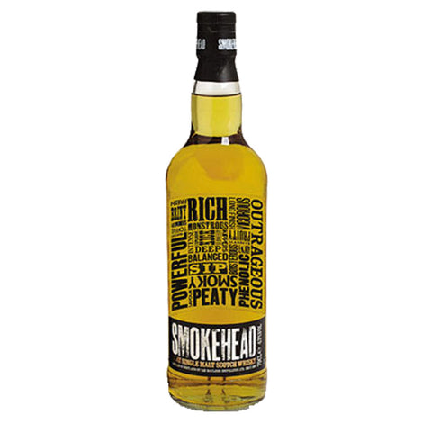 Smokehead (No Age Statement) Islay Single Malt Scotch Whisky - 700ml Whiskey - Drinkka Alcohol Delivery Best Whiskey Wine Gin Beer Vodkas and more for Parties in Makati BGC Fort and Manila | Bevtools Bar and Beverage Tools