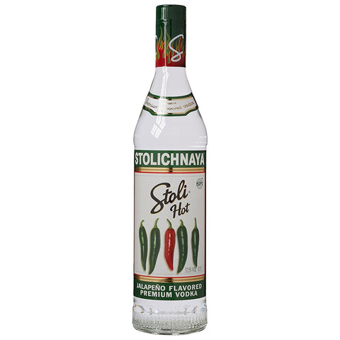 Stolichnaya Hot Chili Vodka - 750ml Flavored Vodka - Drinkka Alcohol Delivery Best Whiskey Wine Gin Beer Vodkas and more for Parties in Makati BGC Fort and Manila | Bevtools Bar and Beverage Tools
