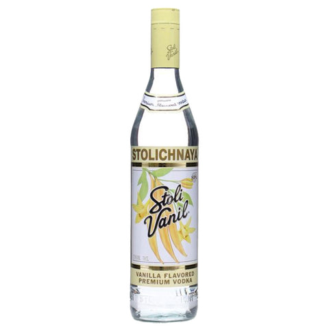 Stolichnaya Vanil Vodka - 750ml Flavored Vodka - Drinkka Alcohol Delivery Best Whiskey Wine Gin Beer Vodkas and more for Parties in Makati BGC Fort and Manila | Bevtools Bar and Beverage Tools