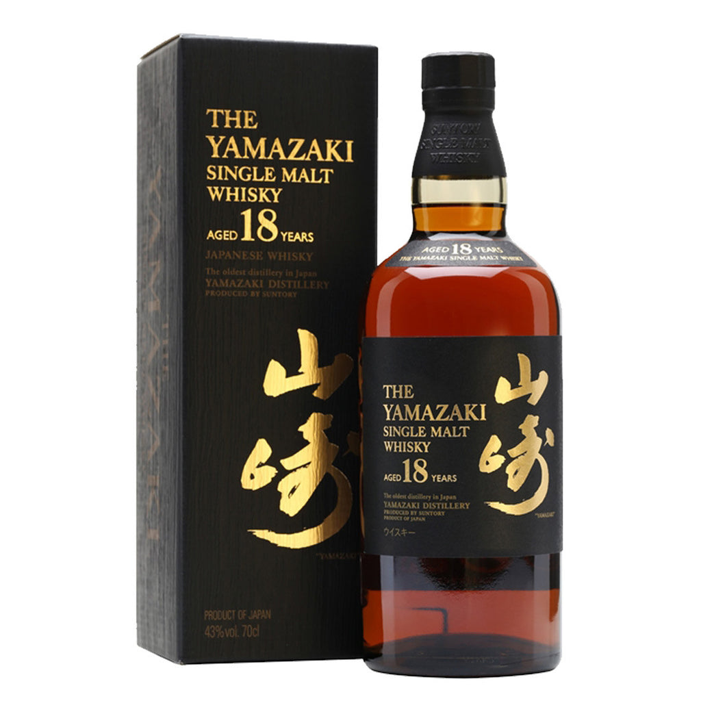Suntory Yamazaki 18 Years Japanese Whisky - 700ml Whiskey - Drinkka Alcohol Delivery Best Whiskey Wine Gin Beer Vodkas and more for Parties in Makati BGC Fort and Manila | Bevtools Bar and Beverage Tools