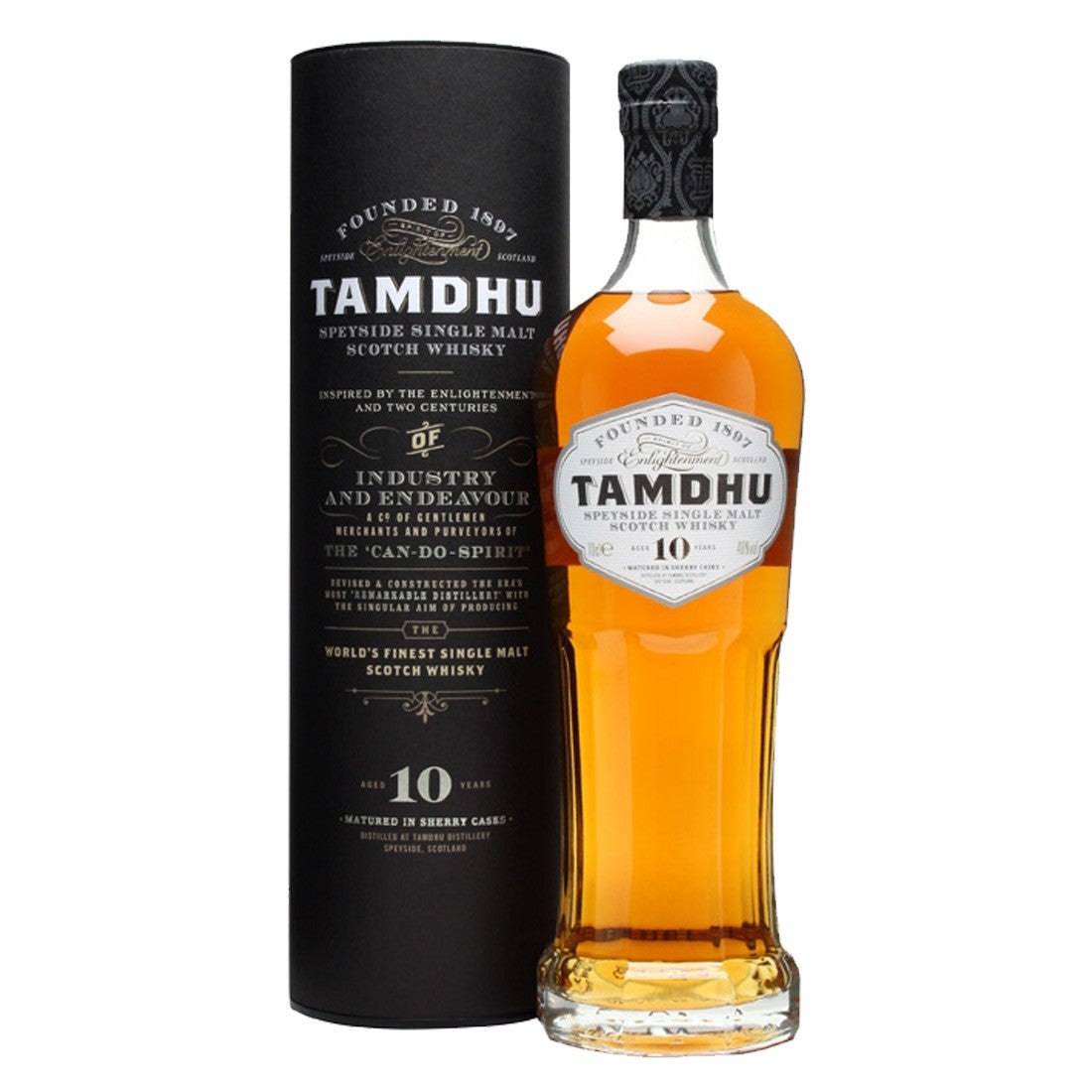 Tamdhu 10 Years Speyside Single Malt Scotch Whisky - 700ml Whiskey - Drinkka Alcohol Delivery Best Whiskey Wine Gin Beer Vodkas and more for Parties in Makati BGC Fort and Manila | Bevtools Bar and Beverage Tools