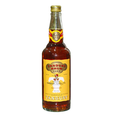 Tanduay Dark Rhum 5 Years - 750ml - Bevtools Bar Tools and Alcohol Delivery