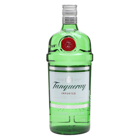 Tanqueray Dry Gin - 1000ml - Bevtools Bar Tools and Alcohol Delivery