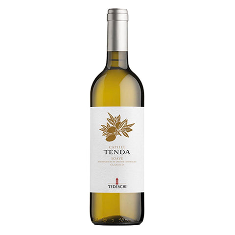 Tedeschi Capitel Tenda Soave DOC Clasico 2015 - 750m White Wine - Drinkka Alcohol Delivery Best Whiskey Wine Gin Beer Vodkas and more for Parties in Makati BGC Fort and Manila | Bevtools Bar and Beverage Tools