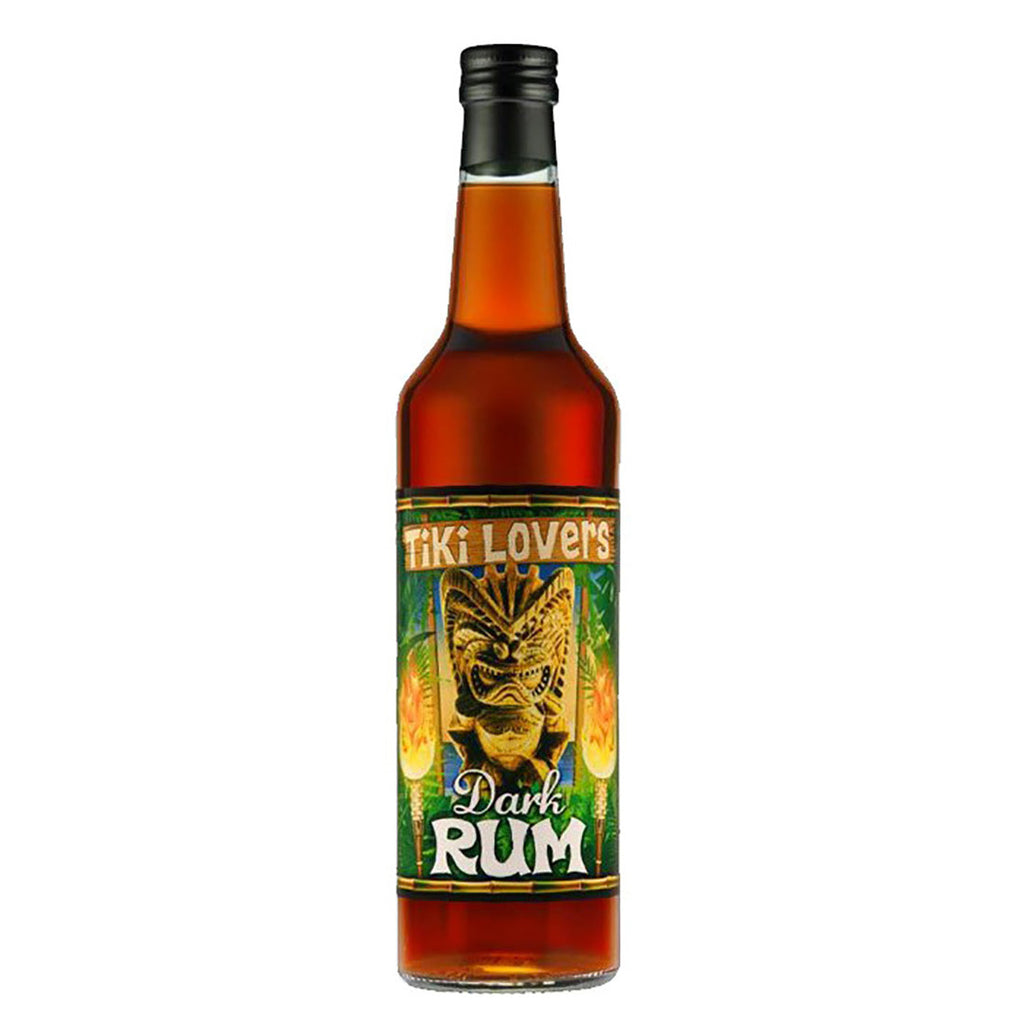 Tiki Lover's Dark Rum - 700ml Rum - Drinkka Alcohol Delivery Best Whiskey Gin Beer Vodkas and more in Makati and Manila | Bevtools Bar and Beverage Tools