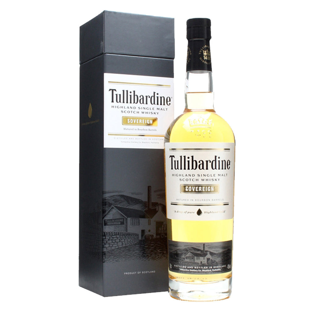 Tullibardine Sovereign Highland Single Malt Scotch Whisky - 700ml Whiskey - Drinkka Alcohol Delivery Best Whiskey Wine Gin Beer Vodkas and more for Parties in Makati BGC Fort and Manila | Bevtools Bar and Beverage Tools