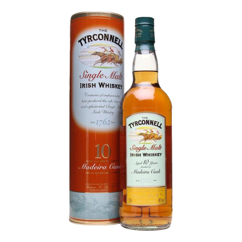 Tyrconnel 10 Years Madeira Single Malt Irish Whisky - 700ml Whiskey - Bevtools Bar and Beverage Tools | Alcohol and Liquor Delivery Makati, Metro Manila, Philippines