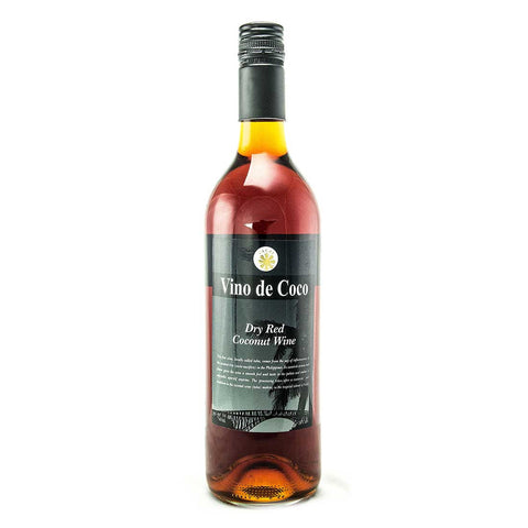 Vino de Coco Dry Red Coconut Wine - 750ml Wine - Drinkka Alcohol Delivery Best Whiskey Wine Gin Beer Vodkas and more for Parties in Makati BGC Fort and Manila | Bevtools Bar and Beverage Tools