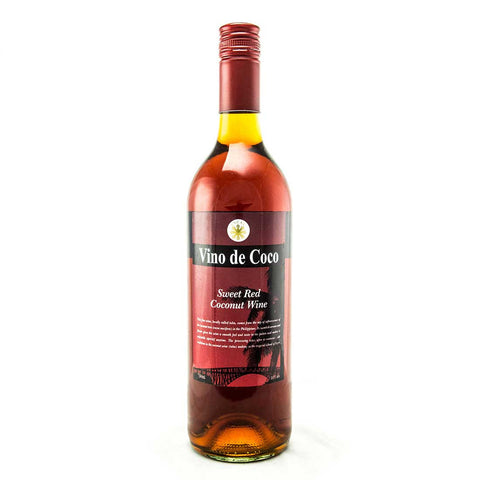Vino de Coco Sweet Red Coconut Wine - 750ml Wine - Drinkka Alcohol Delivery Best Whiskey Wine Gin Beer Vodkas and more for Parties in Makati BGC Fort and Manila | Bevtools Bar and Beverage Tools