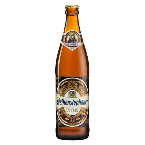 WEIHENSTEPHAN Vitus Weizenbock - 500ml Imported Craft Beer - Drinkka Alcohol Delivery Best Whiskey Wine Gin Beer Vodkas and more for Parties in Makati BGC Fort and Manila | Bevtools Bar and Beverage Tools