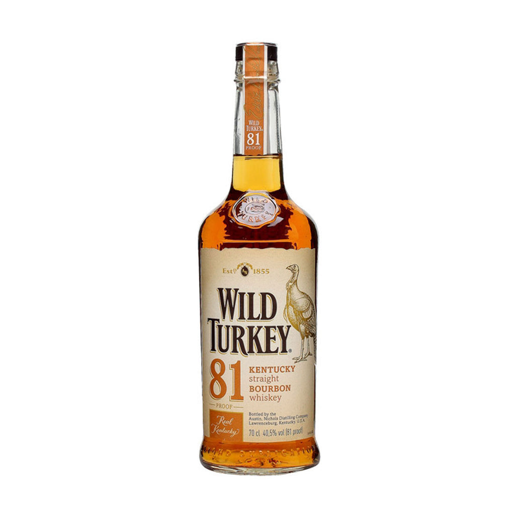 Wild Turkey 81 - 750ml - Bevtools Bar Tools and Alcohol Delivery